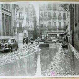 RIADA 1957, CALLE UNIVERSIDAD, Y PINTOR SOROLLA